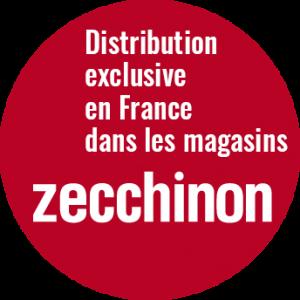 Distribution exclusive en France par les magasins Zecchinon