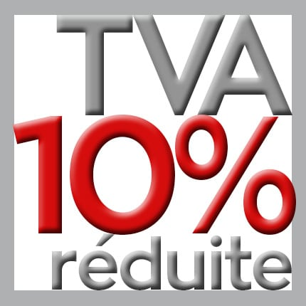 TVA réduite 10%