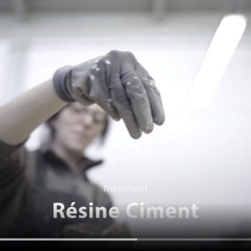Finition résine ciment Zecchinon